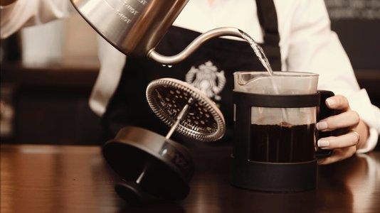 Cafeteira Prensa Francesa 350 ml Preta