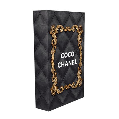 Caixa Livro COCO CHANEL