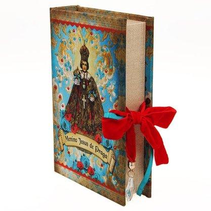 Caixa Livro Menino Jessus de Praga