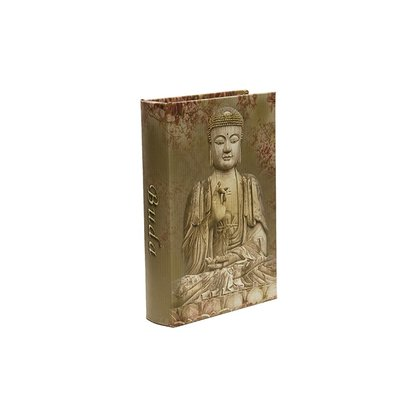 Caixa Livro Refugio Divino Buda