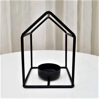 Castiçal Metal House Tam M