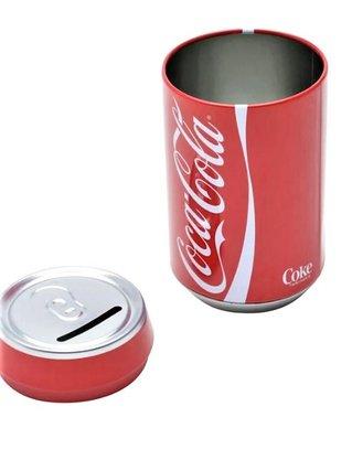 Cofre Metal Round Coca-Cola