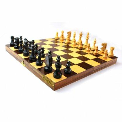 Conjunto/Jogo Marchetado tabuleiro de  Xadrez