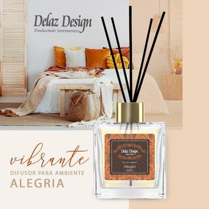 Difusor Alegria 250 ml Delaz Design