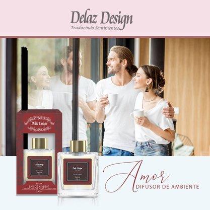 Difusor para ambiente sentimento Amor 250ml Delaz Design