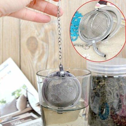 Infusor Metal para Chá ou Cafe Bolinha