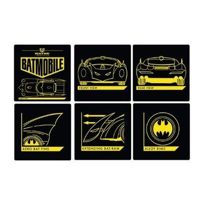 Jg Porta Copos Batman Oficial DC Comics 6 uni
