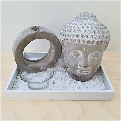 Jogo 4 PCS Zen Garden Buddah