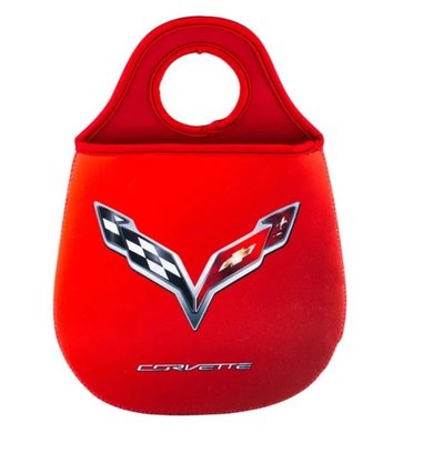 Lixeira para Carro Corvette Vermelho Chevrolette Oficial