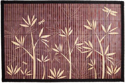 Lugar Americano Bamboo Floral