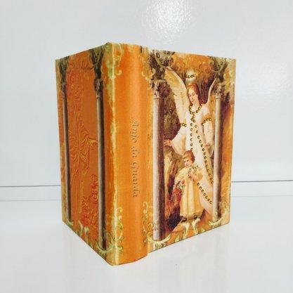 Mini Livro Refugio Divino Anjo da Guarda