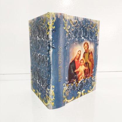 Mini Livro Refugio Divino Sagrada Familia