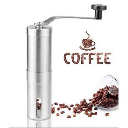 Moedor de Cafe Manual em Inox