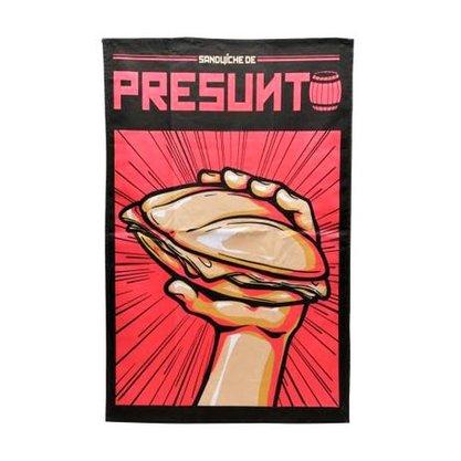 Pano Prato Algodao- Chaves Oficial- Presunto