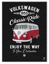 Placa Metal VW Fusca