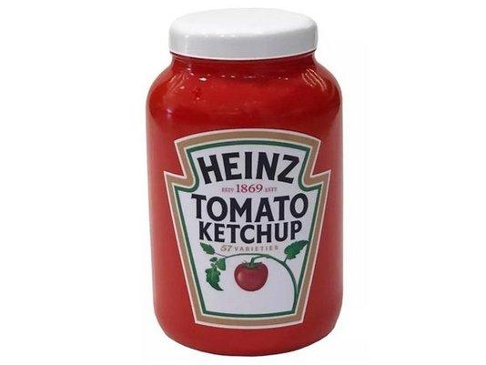 Pote Mantimentos ketchup Vermelho