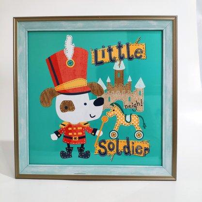 Quadro Infantil Little Soldier