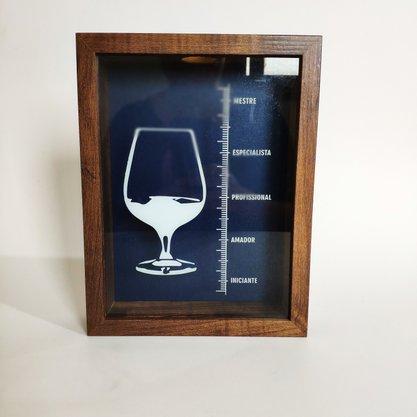Quadro Porta Rolhas Vinho