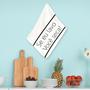 Pano de Prato ``Se eu Lavo Você Seca`` Geek